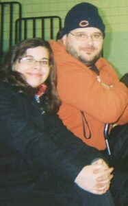Michael and Brittiany in 2007 at Red Smith School
