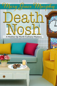 Death Nosh mystery book cover by Mary Grace Murphy